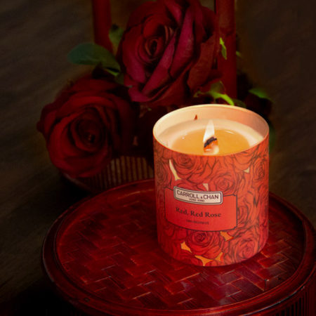 Red Red Rose Jar Candle